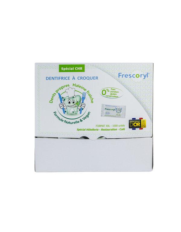 Dentífrico masticable: 1000 comprimidos