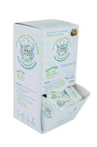 Pack de 150 comprimidos del dentifrico masticable frescoryl