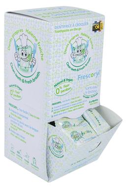 Frescoryl es el dentífrico masticable que te ayuda a cuidar tu boca en el trabajo
