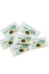 Comprimidos individuales frescoryl para utilizar en cualquier lugar