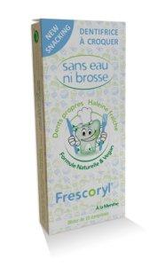 Frescoryl el dentifrico masticable vegano es muy eficaz contra el mal olor