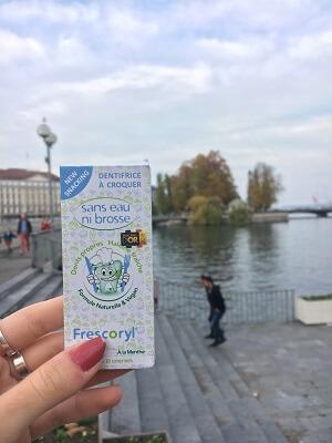 Frescoryl es tu acompañante perfecto en los viajes. Una alternativa a la pasta de dientes fácil