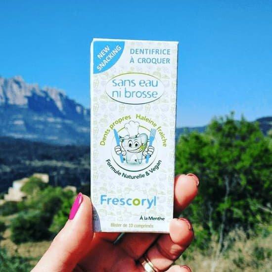Frescoryl es un dentífrico vegano, natural y ecológico