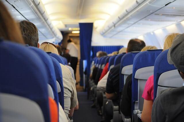 Viajar en avión con el resto de pasajeros