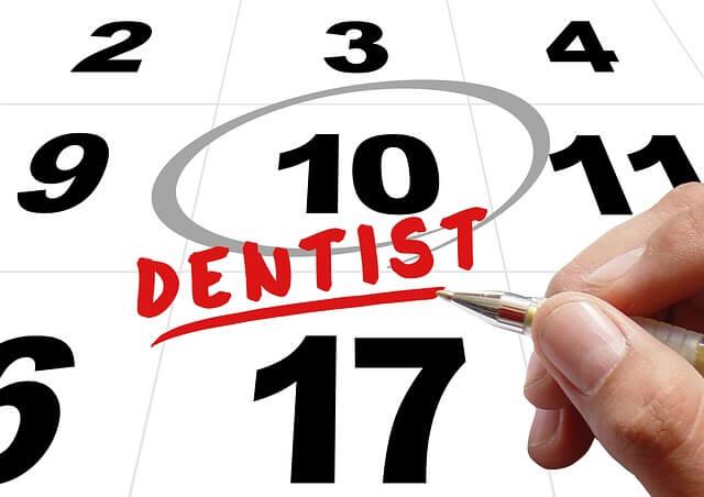 Tener en mente tu próxima cita en el dentista